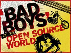 In Pictures: The 'Bad Boys' of open source