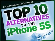 In Pictures: 10 best alternatives to the iPhone 5S