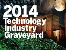 In Pictures: 2014 technology industry graveyard