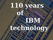 SLIDESHOW: CIO Blast from the Past -- 110 Years of IBM technology