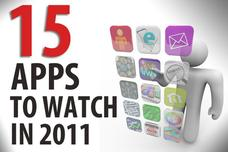 Top 15 innovative mobile apps to watch in 2011