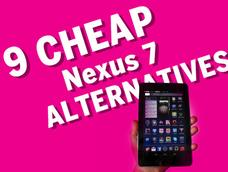 In Pictures: 9 cheap Nexus 7 alternatives