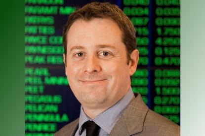 ASX general manager of trading services David Raper.