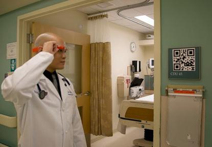 Google Glass at Beth Israel Deaconess Medical Center