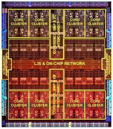 A diagram of Oracle's Sparc M7, due in 2015