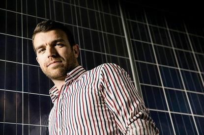 Smart Commercial Solar founder Huon Hoogesteger.