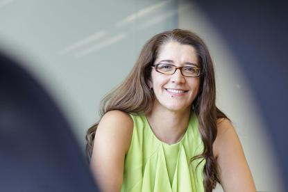 """BT's CIO, Anastasia Cammaroto: """"I've attended conferences where there's been two females in there; that's where you really need to pay attention."""""""