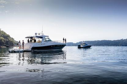 Pacific Boating luxury sports cruiser.