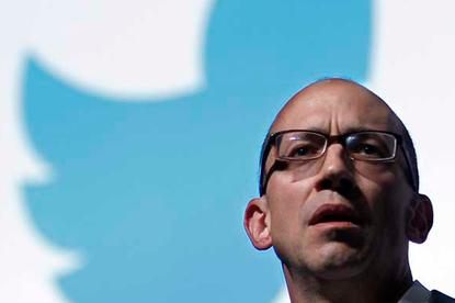 Dick Costolo is out as Twitter's CEO and will be succeeded by Twitter co-founder Jack Dorsey effective July 1. Credit: REUTERS/Eric Gaillard
