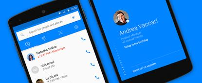 Facebook's Hello app pulls data from people's profiles and displays it for incoming calls.