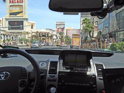 Google self-driven car