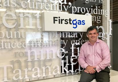 Huw Griffiths is the first IS Manager for First Gas.