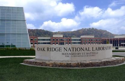 Oak Ridge National Lab in Oak Ridge, Tennessee.