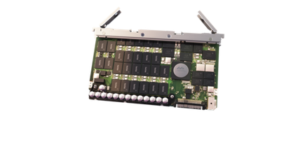 An 8TB flash card from SanDisk's new InfiniFlash platform. The IF100 holds up to 64 of the cards for a total capacity of 512TB.