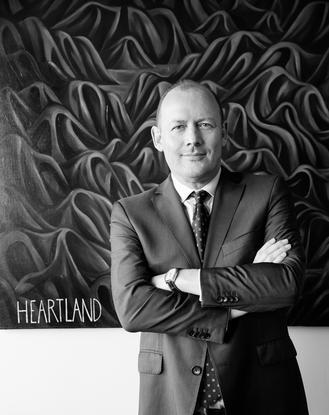 Heartland Bank CEO Jeff Greenslade