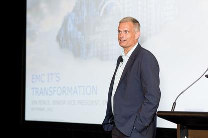 """EMC's Jon Peirce: """"We're detecting and remediating potential situations before they evolve into risks."""""""