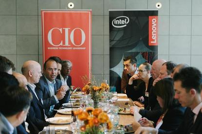 @ the CIO Roundtable 'The rise of the machines: Is AI leading us to doom or boom?' held in conjunction with Lenovo