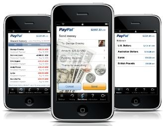 "PayPal's new Send Money iPhone mobile commerce app supports transfers via ""bumping"""