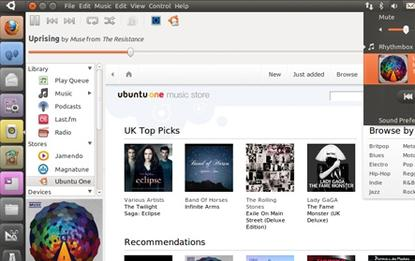 Future versions of Ubuntu will ship with the Unity interface
