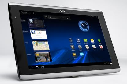The Acer Iconia A500 Android tablet