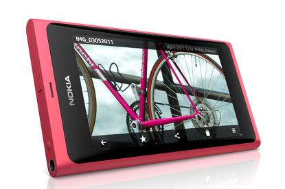 Nokia N9 mobile phone