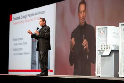 Oracle CEO, Larry Ellison