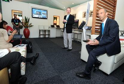 Tennis Australia chief information officer, Samir Mahir