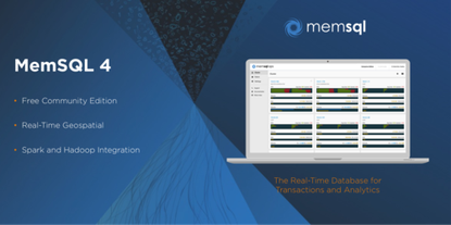MemSQL 4 includes a new Community Edition