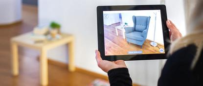 Metaio makes augmented-reality software that lets users see products as they would appear in the space in front of them.
