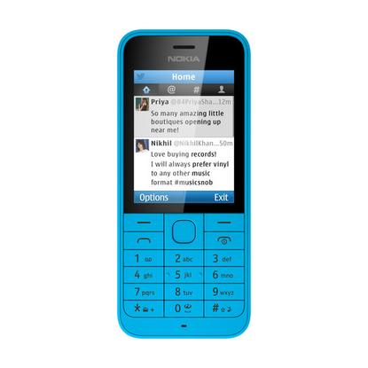 The Nokia 220 has comes with a Twitter app.