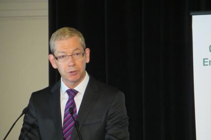Australian Privacy Commissioner, Timothy Pilgrim, addresses the IAPP Privacy Summit 2014.