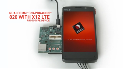 A Qualcomm snapdragon 820 prototype. Credit: Microsoft