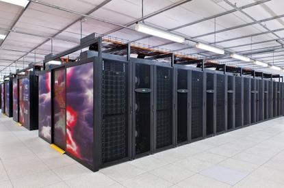 The Raijin supercomputer at the ANU.