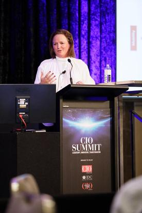 Roy Hill's tech chief Rebbecca Kerr: IoT helping the miner cut energy costs