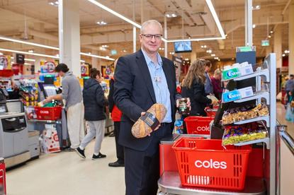 Coles chief information and digital officer, Roger Sniezek