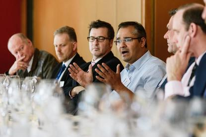 Splunk's CTO Snehal Antani (centre): DevOps programs are stalling because of religious debates with those that believe in ITIL and segregation of duties