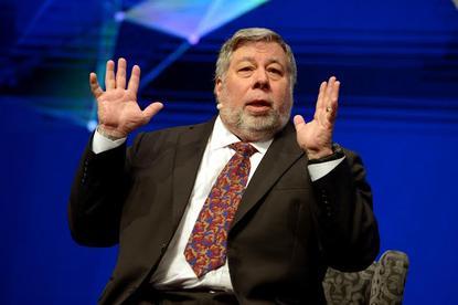 Steve Wozniak during his keynote at the 2015 Gartner Symposium/ITxpo at the Gold Coast.