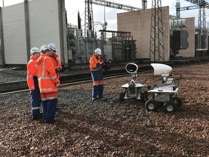 After the month-long trial in Albany, one of the robots will be brought to the Tuai substation and the other will be based at the Transpower  head office in Wellington.