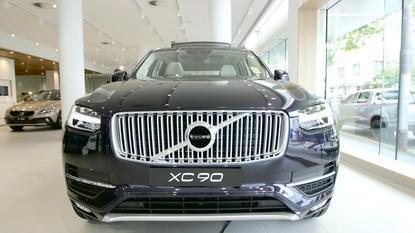 The driverless Volvo XC90
