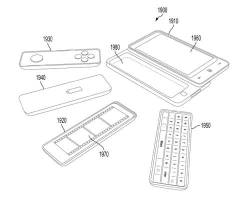 A Microsoft patent application from 2011 shows a concept modular phone