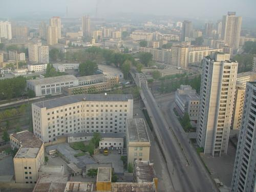 Pyongyang, the capital of North Korea, in a file photo from 2002. More than 3 million of the country's 24 million people live here.