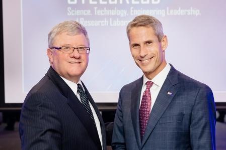 Raydon Gates, Chief Executive, Lockheed Martin Australia New Zealand and Dr. Keoki Jackson, Lockheed Martin's Chief Technology Officer