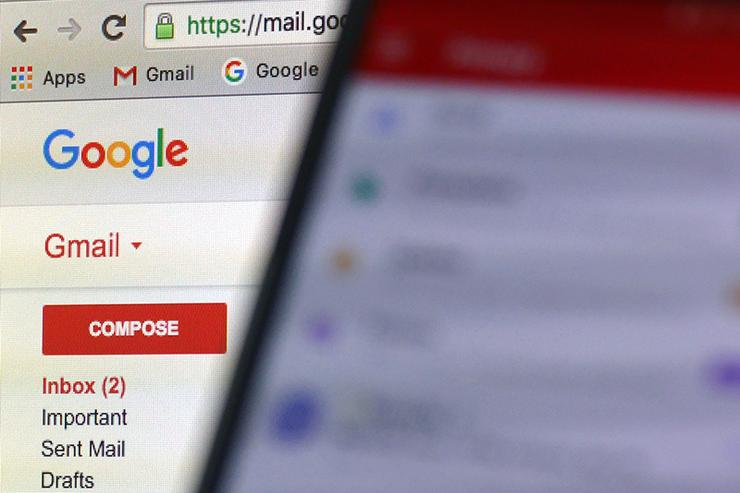 Gmail users targeted in huge phishing scam