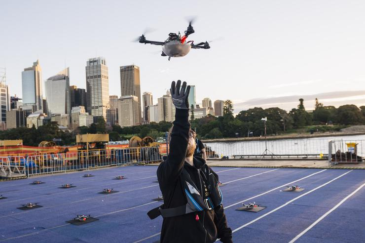 Intel's Drone 100 performance at Vivid Sydney earlier this year.