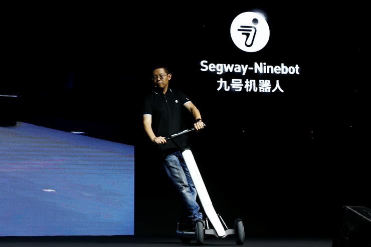 China's Ninebot unveils scooters that drive themselves to