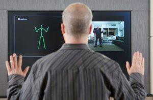 The new Kinect technology offers improved skeletal tracking.