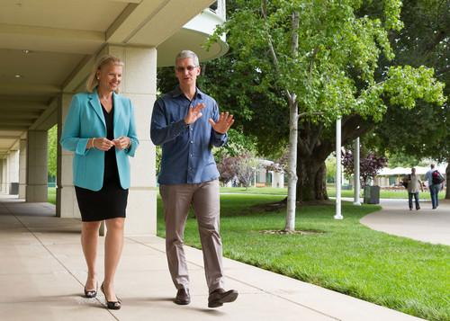 Tim Cook, Apple CEO and Ginni Rometty, IBM CEO today announced a global partnership to transform enterprise mobility through a new class of business apps--bringing IBM's big data and analytics capabilities to iPhone and iPad.