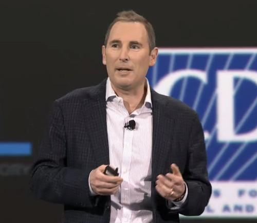 Andy Jassy, Amazon senior vice president in charge of Amazon Web Services, at AWS re:Invent conference 2014