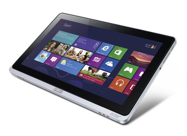 The Acer Iconia W701 tablet