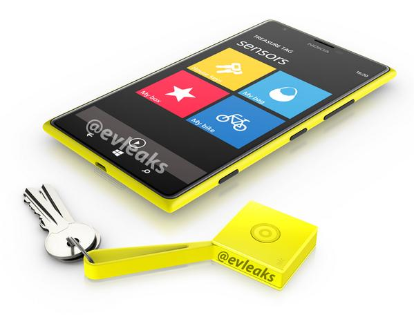 A leaked image of the Nokia Lumia 1520. (Image credit: @evleaks)